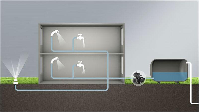 Схема установки бустерных